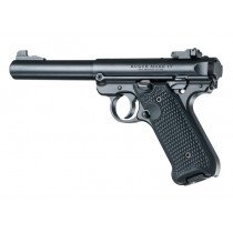 Ruger MK IV Piranha Grip G10 - Solid Black