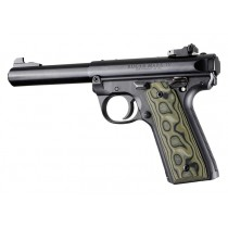 Ruger 22/45 MK IV: Green G-Mascus G10 Smooth Grip Panels