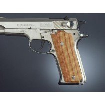 S&W Model 59 Auto, Tulipwood Checkered