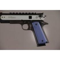 1911 Govt. Model 9/32 Thick Aluminum - Matte Blue Anodized