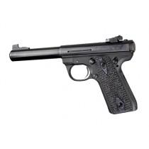 Ruger MK III 22/45 RP Piranha Grip G10 - G-Mascus Black/Gray