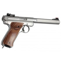 Ruger MK II - Smooth - PAU FERRO - Left Hand Thumb Rest