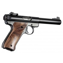 Ruger MK II/III - Smooth - PAU FERRO - Left Hand Thumb Rest
