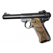 Ruger MK II/III - Checkered - LAMO CAMO - Right Hand Thumb Rest