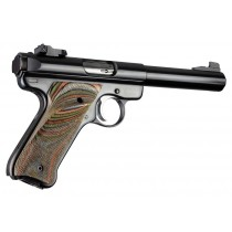 Ruger MK II/III - Checkered - LAMO CAMO - Left Hand Thumb Rest