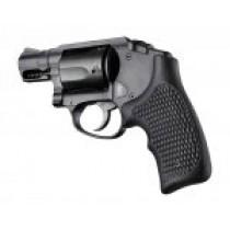 S&W Body Bantam Finger Groove Piranha Grip G10 - Solid Black