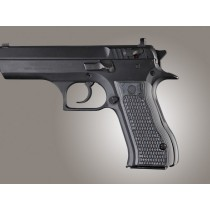 Baby Eagle .40 / 9mm Jericho & Uzi Eagle Piranha Grip G10 - G-Mascus Black/Gray