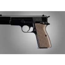 Browning Hi-Power Piranha Grip G-10 - G-Mascus Tan