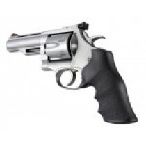 Dan Wesson Large Frame Rubber Monogrip Black