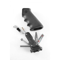 AR-15/M-16 OverMolded Rubber Grip Black with Samson Field Survival Kit
