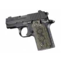 SIG Sauer P238 Checkered G10 - G-Mascus Green