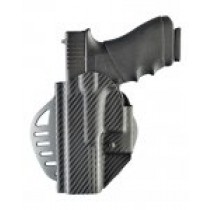 ARS Stage 1 - Carry Glock 17, 18, 22, 31, 37 Left Hand Holster CF Weave