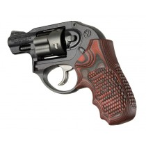 Ruger LCR/LCRx: Red Lava Piranha G-Mascus G10 Grip