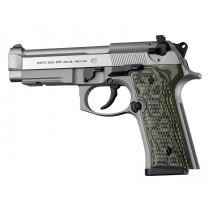 Beretta 92 M9A3/Vertec: Piranha G10 Grip Panels - G-Mascus Green