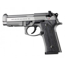 Beretta 92 M9A3/Vertec: Checkered G10 Grip Panels - G-Mascus Black/Grey