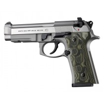 Beretta M9A3, Vertec Panels Checkered G10 - G-Mascus Green