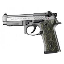 Beretta 92 M9A3/Vertec: Checkered G10 Grip Panels - G-Mascus Green
