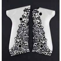 Beretta 92 Scrimshaw Ivory Polymer - Boneyard