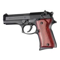 Beretta 92 Compact Rosewood Laminate