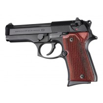 Beretta 92 Compact Rosewood Laminate Checkered