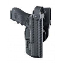 ARS Stage 2 - Duty Holster Glock 17, 22, 31, 37 Right Hand CF Weave