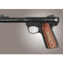 Ruger MK III 22/45 RP Rose Lamo Checkered
