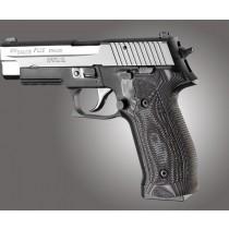 SIG Sauer P226 DA/SA Magrip Piranha Grip G10 - G-Mascus Black/Gray