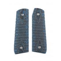 Ruger 22/45 RP Piranha Grip G10 - G-Mascus Blue Lava