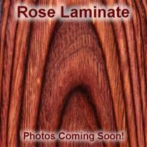 Taurus Med. & Lg. Rd. Butt Rose Lam Top Finger Groove, Stripe/Cap
