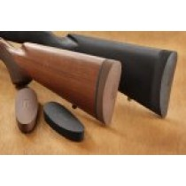 EZG Pre-sized recoil pad Ruger 77 MKII wood stock - Black