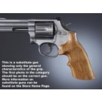 Dan Wesson Large Frame Goncalo Top Finger Groove, Checkered