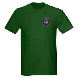 Hogue Grips T-Shirt Medium Forest Green
