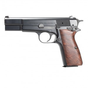 Browning Hi-Power: Smooth Hardwood Grip - Walnut Burl