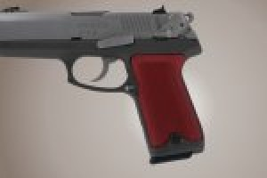 Ruger P94 Checkered Aluminum - Matte Red Anodize