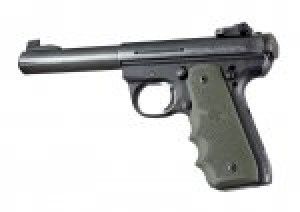 Ruger MK III 22/45 RP Rubber Grip with Finger Grooves OD Green