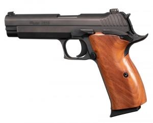SIG P210 American: Smooth Hardwood Grip - Pau Ferro