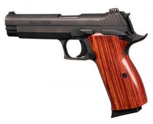 SIG P210 American: Smooth Hardwood Grip - Coco Bolo