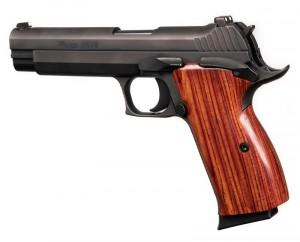 SIG P210 American: Smooth Hardwood Grip - Cocobolo