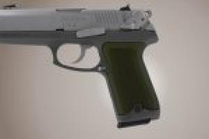 Ruger P94 Checkered Aluminum - Matte Green Anodize