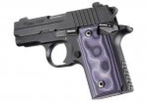 SIG Sauer P238 Smooth G10 - G-Mascus Purple Lava