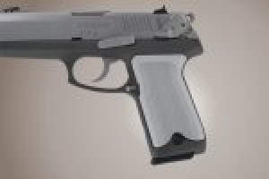 Ruger P94 Checkered Aluminum - Matte Clear Anodize