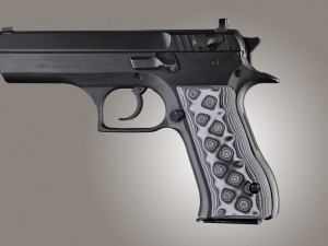 Baby Eagle .40 / 9mm Jericho & Uzi Eagle G10 - G-Mascus Black/Gray