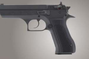 Baby Eagle .40 / 9mm Jericho & Uzi Eagle Checkered - Black G10