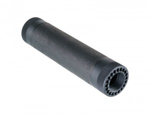 AR-15 / M16: (Mid Length) OverMolded Free Float Forend - Black