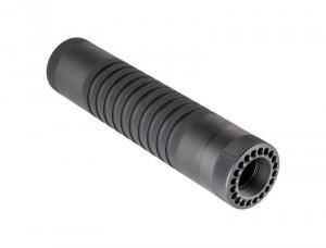 AR-15 / M16: (Mid Length) Knurled Aluminum Free Float Forend - Black