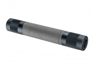 AR-15 / M16: (Rifle Length) OverMolded Free Float Forend - Slate Grey