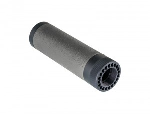 AR-15 / M16: (Carbine Length) OverMolded Free Float Forend - Slate Grey