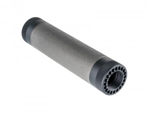 AR-15 / M16: (Mid Length) OverMolded Free Float Forend - Slate Grey