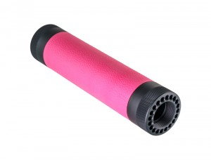 AR-15 / M16: (Mid Length) OverMolded Free Float Forend - Pink