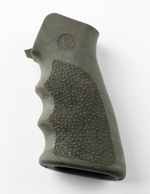 AR-15/M-16 Rubber Grip with Finger Grooves Ghillie Green